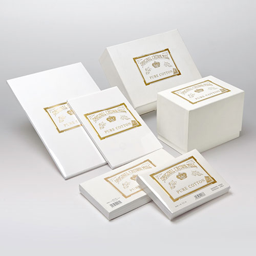 Pure Cotton Range - Paper & More - Suppliers Of Crown Mill Fine Stationery