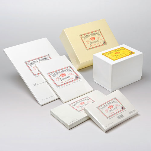 Classic Laid Range - Paper & More - Suppliers Of Crown Mill Fine Stationery