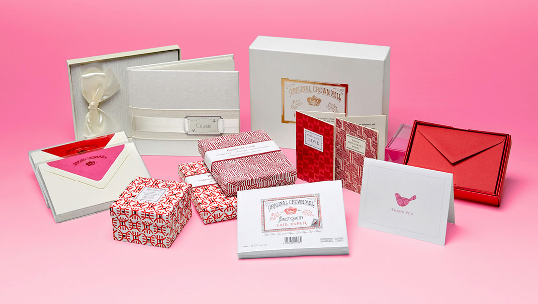 Paper & More - Suppliers Of Crown Mill Fine Stationery